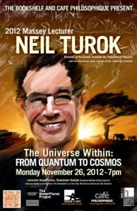 Neil Turok. Click to purchase The Universe Within.