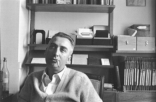Roland Barthes. Photo by Aly.