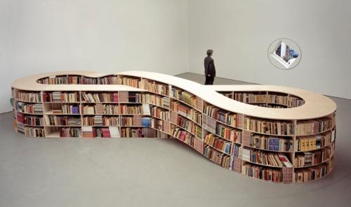 Bookcase by Job Koelewijn.